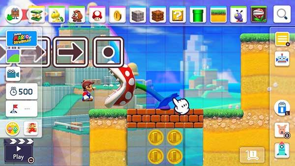 🥇 SUPER MARIO MAKER 2 ™ » Play Online (Scratch game)
