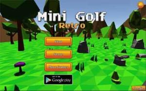 MINI GOLF RETRO Free Game (a game similar to GOLF IT!)