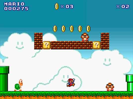 Image Super Mario Flash