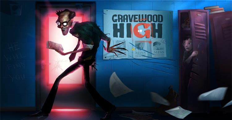 "Play Free GRAVEWOOD HIGH"" class="