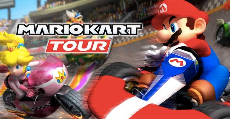 "Play Free MARIO KART TOUR for PC"" class="