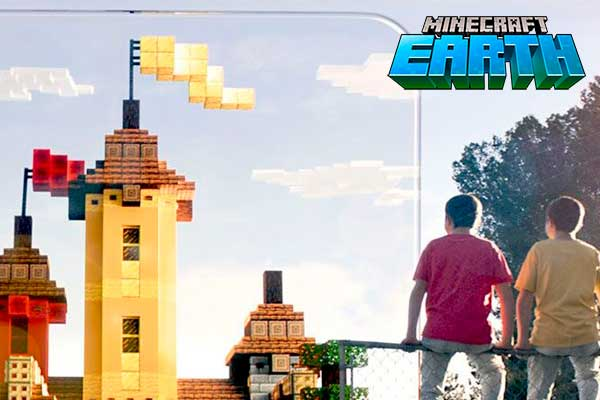 Image MINECRAFT EARTH