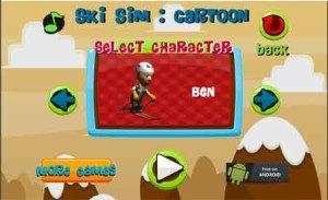 Image SKI SIM CARTOON